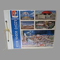 New York 1964 Un-Used World's Fair Scrap Book, Hasbro