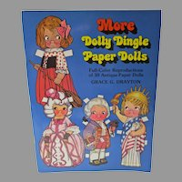 1979 More Dolly Dingle Reproduction Paper Dolls, Un-Cut