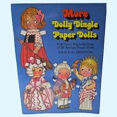 1979 More Dolly Dingle Reproduction Paper Dolls, Un-Cut