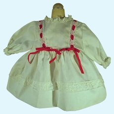Sweet VIntage 1970's Doll Dress