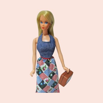 Mattel 1972 Busy Barbie, With Accessories
