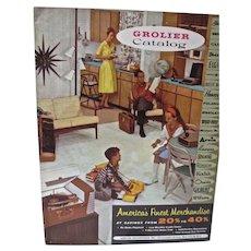 Vintage 1961 Grolier Catalog, Toys, Dolls, Electronics etc...