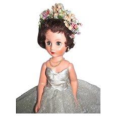 VIntage 1950's 19 Inch Vinyl Fashion Doll