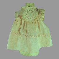 Vintage 1920's Doll Dress, Charming