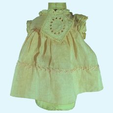 Vintage 1920's Doll Dress, Charming