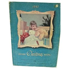 1957 Sears Christmas Book, Toys and Dolls!!