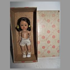"Vintage Nancy Ann Storybook 8"" Muffie Doll MIB, 1954"