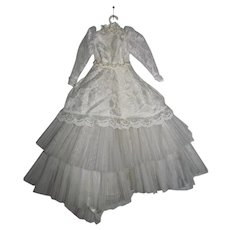 "Madame Alexander 17"" Elise Doll Wedding Gown, 1960's"