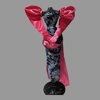 Fabulous Gene Doll Evening Gown 1990's