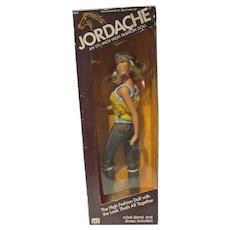NRFB Jordache Fashion Doll, Mego, 1981
