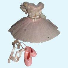 Vintage Madame Alexander Cissette Ballerina Outfit, 1963