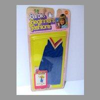 Mattel NRFC Barbie Beginner's Fashions, 1979