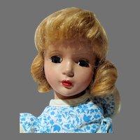"Charming 14"" HP Madame Alexander Doll, 1950's"