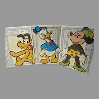 MIB APC Disney Jointed Juniors, Minnie, Pluto & Donald Duck