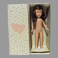 MIB Peg O' My Heart Bisque Doll, Miss Auburn, 1940's