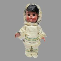 1950's Eskimo Doll, All Orig. Reliable Dolls, Canada