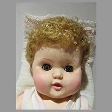 "Effanbee 14"" Dydee Baby Doll, 1980's"