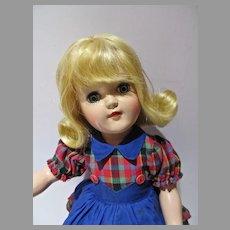 Beautiful Ideal Blond P-91 Toni Doll, 1950