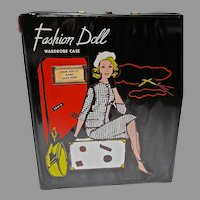 Mint 1960's Fashion Doll (Clone) Vinyl Case, Unusual