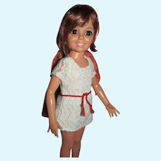Vintage Ideal Growin' Hair Crissy Doll in With It Knit, 1970