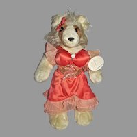 "North American Bear Co. VOP Collection ""Collie (Dolly) Parton Plush Dog, 1985"