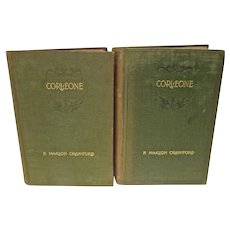 First Edition Two Volume Set Corleone dated 1897