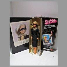 Mattel MIB Le Nouveau Theatre De La Mode Barbie, Billy Boy Signed Box, 1985