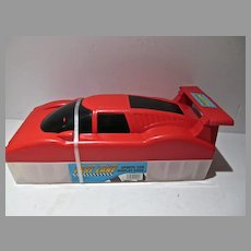 Fast Lane Sports Car Display Case, 1990