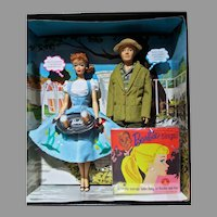 NRFB Mattel Friday Night Dream Date Set, Barbie & Ken, Gold Label