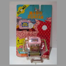 MOC Pee Wee Herman Magic Screen, Matchbox Toys, 1988