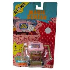 MOC Pee Wee Herman Magic Screen, Matchbox Toys, 1988