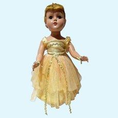 Vintage 14 Inch Arranbee Nancy Lee Ballerina Doll, 1950