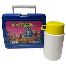 BraveStarr Plastic Lunch Box, 1986, Western, Sci Fi
