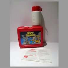 Sky Commanders Hanna- Barbera, Lunch Box, 1987