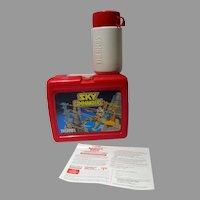 Sky Commanders Hanna- Barbera, Lunch Box, 1987