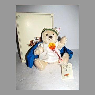 MIB Steiff Bear, Special Ltd. Ed. C.U. Olympian 1996