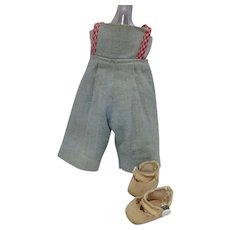 "Original 1953 Madame Alexander ""Quiz-kin"" Outfit"