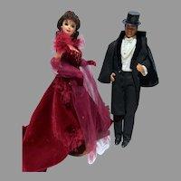 Mattel Barbie & Ken, Gone With The Wind Dolls, 1994