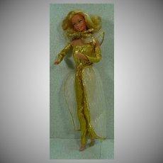 Mattel 1980 Golden Dreams Barbie Doll, All Original!
