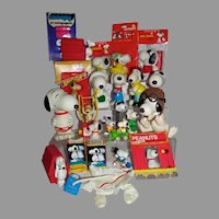 Large Vintage Snoopy Collection, 1970's