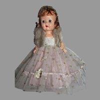 1954 Nancy Ann Debbie Doll in Formal, All Original