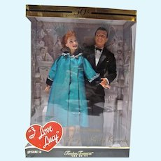 Mattel I Love Lucy, Lucy& Ricky 50th Anniversary Dolls, NRFB