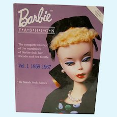 Barbie Fashion Book Vol. 1, 1959-1967, OOP, Sarah Sink Eames