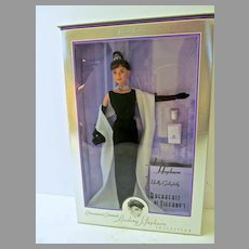 "NRFB Audrey Hepburn, ""Breakfast At Tiffany', 1988 by Mattel"