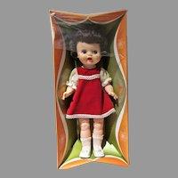 Vintage 1960's Ellanee Girl Doll, NRFB