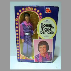 Mattel NRFB Donny Osmond Doll, 1976