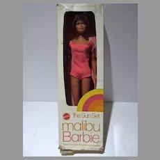 MIB Malibu Barbie Doll, The Sun Set, Mattel 1975