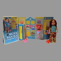 Mattel Busy Becky Doll w/Accessories and Original Box, 1970