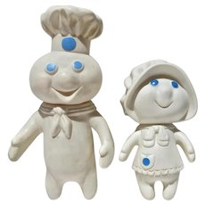 Original Pillsbury Dough Boy & Girl, 1971-2