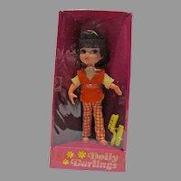 NRFB Hasbro Dolly Darlings, Casual Doll, 1966
